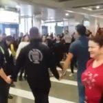 Μακεδονία Ξακουστή στο Αεροδρόμιο της Θεσσαλονίκης (ΒΙΝΤΕΟ)