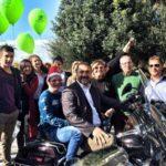 Ο Αντιδήμαρχος Παλαιού Φαλήρου Γιάννης Φωστηρόπουλος στη δράση της ΑΛΜΑ στο Παλαιό Φάληρο
