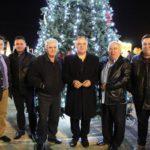 Δήμος Ωρωπού: Φωταγωγήσεις Χριστουγεννιάτικων Δέντρων στην Μαλακάσα και στο Χαλκούτσι