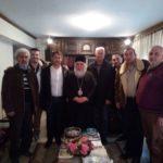 Συνάντηση δημοτικής παράταξης «Αλλάζω την πόλη μου» με τον Μητροπολίτη Σταυρουπόλεως και Νεαπόλεως κ. Βαρνάβα