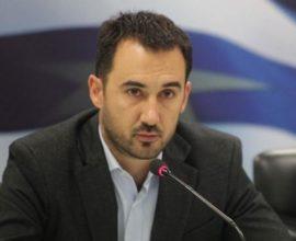 Συνέντευξη Υπουργού Εσωτερικών, Αλέξη Χαρίτση, στο ρ/σ «Αθήνα 984»