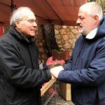 Επίσκεψη του υποψηφίου Δημάρχου Πεντέλης Λ. Κοντουλάκου στη λαϊκή αγορά της Νέας Πεντέλης.