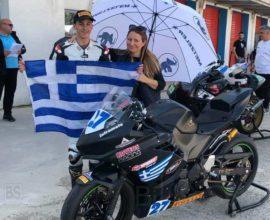 Υποσχέσεις για το μέλλον άφησε ο Παπανικολάου στο Αυτοκινητοδρόμιο Σερρών