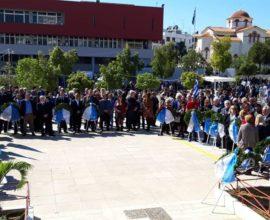 Φόρο τιμής απέτισαν στους ήρωες του '21 το Κερατσίνι και η Δραπετσώνα