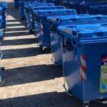 Ξεκίνησε η τοποθέτηση των 100 νέων μπλε κάδων στον Δήμο Ηρακλείου