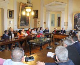 Συνάντηση Δημάρχου Σύρου-Ερμούπολης Γ. Μαραγκού με πολιτιστικούς συλλόγους