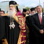 Στην τελετή ενθρόνισης του νέου Μητροπολίτη Περιστερίου κ. Κλήμεντος, ο υποψήφιος Περιφερειάρχης Αττικής Γ. Πατούλης