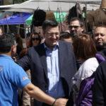 Επίσκεψη του Περιφερειάρχη Κεντρικής Μακεδονίας, Απόστολου Τζιτζικώστα στις Σέρρες