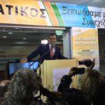 Δήμος Κορινθίων: Το αδιαχώρητο στα εγκαίνια του εκλογικού κέντρου του Αλ. Πνευματικού