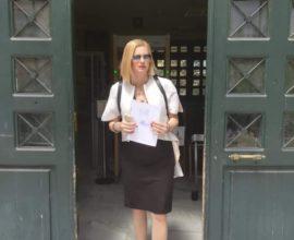 Μηνυτήρια αναφορά της Ραχήλ Μακρή κατά του Δημάρχου και του Γ.Γ. του Δήμου Παλλήνης για διπλοθεσία