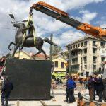 Φωτόπουλος: «Δικαίωση η τοποθέτηση του ανδριάντα του Μεγαλέξανδρου στην Αθήνα»