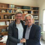 Η Μαρία Πρατικάκη – Κουντάκη υποψήφια σύμβουλος με τον Δήμαρχο Μαλεβιζίου Κώστα Μαμουλάκη