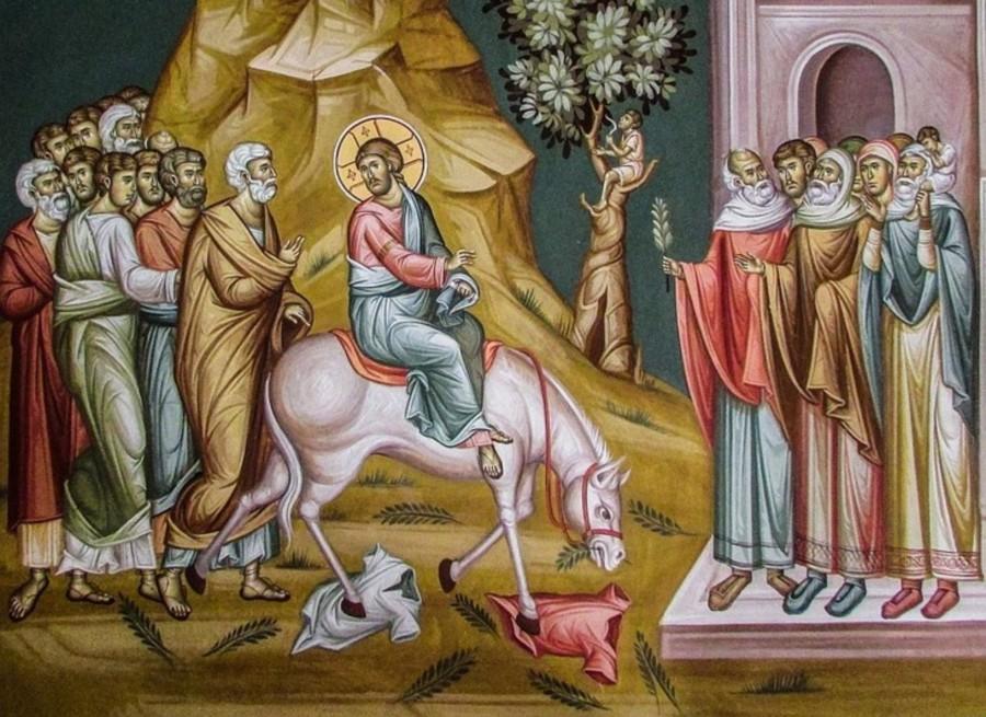 Κυριακή των Βαΐων: «Ευλογημένος ο Ερχόμενος...» - OTA VOICE
