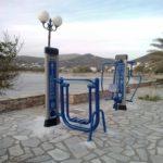 Εγκατάσταση υπαίθριων χώρων εκγύμνασης σε παραλίες του Δήμου Σύρου- Ερμούπολης