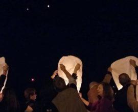 Εκατό φαναράκια στον ουρανό της Θεσσαλονίκης στη μνήμη των θυμάτων της Ποντιακής Γενοκτονίας