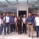 Επίσκεψη του υποψήφιου Δημάρχου Τριφυλίας Παναγιώτη Τσίγγανου στη Λαϊκή Αγορά, σε καταστήματα κι επιχειρήσεις στην Κυπαρισσία
