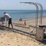Ράμπες για ΑΜΕΑ σε παραλίες, τοποθετεί ο Δήμος Χαλκιδέων