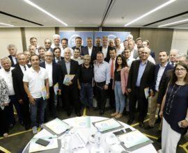 Συνάντηση του νέου Περιφερειάρχη Αττικής Γ. Πατούλη με νεοεκλεγέντες και επανεκλεγέντες Δημάρχους της Αττικής