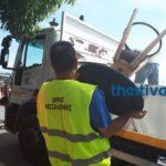 Δήμος Θεσσαλονίκης: Επιχείρηση για παράνομα τραπεζοκαθίσματα στον πεζόδρομο της Αγίας Σοφίας