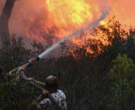 Πολιτική Προστασία: Πολύ υψηλός κίνδυνος πυρκαγιάς – Ποιες περιοχές απειλούνται