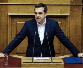 Τι είπε ο Τσίπρας στη  Βουλή για τις προγραμματικές δηλώσεις Μητσοτάκη