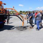 Δήμος Τρίπολης: Παρουσίαση του νέου μηχανήματος επούλωσης λακουβών