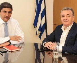 Περιφέρεια Κρήτης: Τον υφυπουργό Πολιτισμού και Αθλητισμού συνάντησε ο Σταύρος Αρναουτάκης