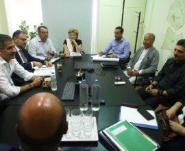 Συνεδρίασε η ομάδα εργασίας για τον «Βοτανικό», παρουσία των Κώστα Μπακογιάννη και  Δημήτρη Γιαννακόπουλου