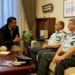 Συνάντηση Τζιτζικώστα με την ηγεσία της Ελληνικής Αστυνομίας στη Βόρεια Ελλάδα
