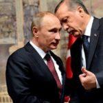 Συμφωνία Πούτιν Ερντογάν για «κοινές επιχειρήσεις»  στη Συρία.