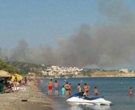 Σάμος: Εκκενώθηκαν προληπτικά  ξενοδοχεία και μεταφέρθηκαν τουρίστες και κάτοικοι στο κλειστό του Πυθαγορείου