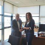 Συνάντηση Κυρίζογλου με Αντωνίου στα γραφεία στης ΠΕΔ-ΚΜ στη Θεσσαλονίκη