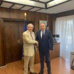 Σε κλίμα συνεργασίας η συνάντηση Θεοδωρικάκου- Αμπατζόγλου για το Μαρούσι
