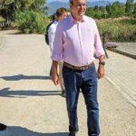 Αλλαγή στο μοντέλο διοίκησης του Πάρκου Τρίτση και καθαρή λύση, εξήγγειλε μετά την επίσκεψη του  ο Υπουργός Κ. Χατζηδάκης