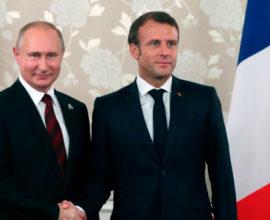Στη Γαλλία σήμερα ο Ρώσος Πρόεδρος Βλαντιμίρ Πούτιν- Ποια η ατζέντα συζήτησης με Εμ. Μακρόν