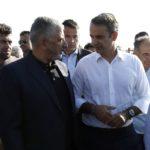 Στο Μάτι με τον Πρωθυπουργό ο Περιφερειάρχης Αττικής Γιώργος Πατούλης