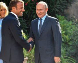 Αιχμές μεταξύ Μακρόν-Πούτιν, για έλλειμμα δημοκρατίας μίλησε ο Γάλλος- Πούτιν Δεν θέλω κίτρινα γιλέκα στη Μόσχα