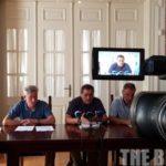 Ο Δήμος Πατρέων σε ένδειξη διαμαρτυρίας  αποφάσισε να απέχει από τις επίσημες εκδηλώσεις των Παράκτιων Μεσογειακών Αγώνων – ΒΙΝΤΕΟ