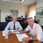 Συνάντηση του Αντιπεριφερειάρχη Ανατολικής Αττικής με τον Δήμαρχο Μαρκοπούλου