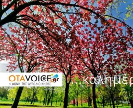 Και την Δευτέρα (26/10) η ενημέρωση σας είναι στο OTAVOICE!