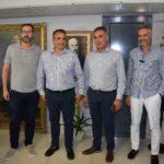 Δήμος Τρίπολης: Τη διάθεσή τους για συνεργασία τόνισαν σε συνάντηση τους Τζιούμης και Τρουπής