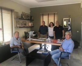 Επισκέψεις- συνεργασίας του δημάρχου Σαρωνικού στις κοινότητες Αναβύσσου, Παλαιάς Φώκαιας και Σαρωνίδας