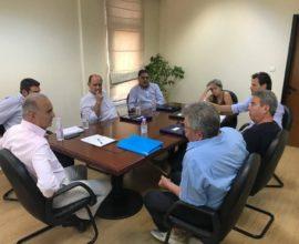 Συνάντηση Δημάρχου Θερμαϊκού με τους επικεφαλής των παρατάξεων που δεν μετέχουν στην διοίκηση του Δήμου