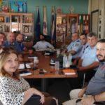 Συνάντηση Δημάρχου Λεβαδέων με τον Διευθυντή της Αστυνομικής Διεύθυνσης Βοιωτίας
