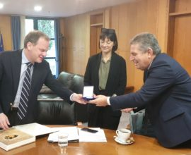 Συνάντηση του Δημάρχου Ιλίου με τον Υπουργό Υποδομών & Μεταφορών