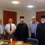 Συνάντηση με τον Ιερό Κλήρο του Μητροπολιτικού Ναού Κοιμήσεως της Θεοτόκου είχε ο Δήμαρχος Αμαρουσίου Θεόδωρος Αμπατζόγλου
