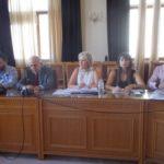 Συνάντηση Δημάρχου Ηρακλείου Βασίλη Λαμπρινού με τους Προέδρους των Τοπικών Κοινοτήτων