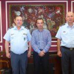 Επίσκεψη του Γενικού Περιφερειακού Αστυνομικού Διευθυντή Δυτικής Μακεδονίας στον Δήμαρχο Καστοριάς