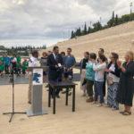 Ειδικό Βραβείο προσφοράς στο δήμαρχο Γιάννη Φωστηρόπουλο, σε διεθνείς αγώνες ευπαθών ομάδων ALIVE & KICKING