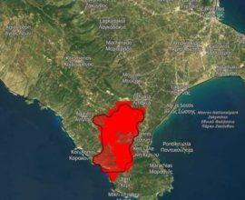 Σε ύφεση η πυρκαγιά στο Κερί Ζακύνθου, φόβοι αναζωπυρώσεων-Εικόνες από τις ζημιές
